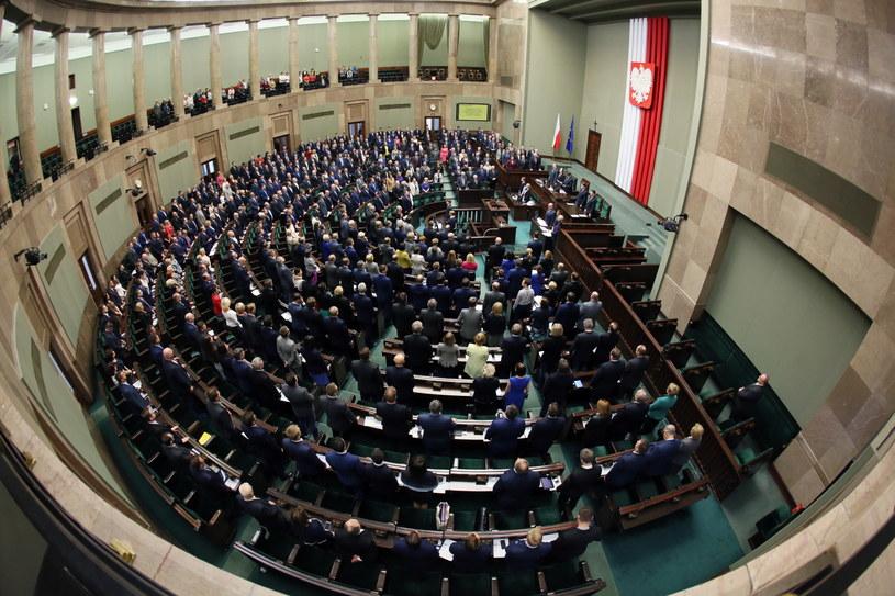 Sejm przyjął nowelizację ustawy o IPN /Tomasz Gzell /PAP