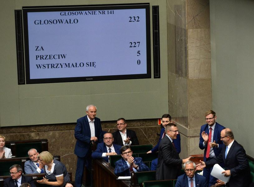 Sejm uchwalił nowelizację ustawy o Krajowej Radzie Sądownictwa /Jacek Turczyk /PAP