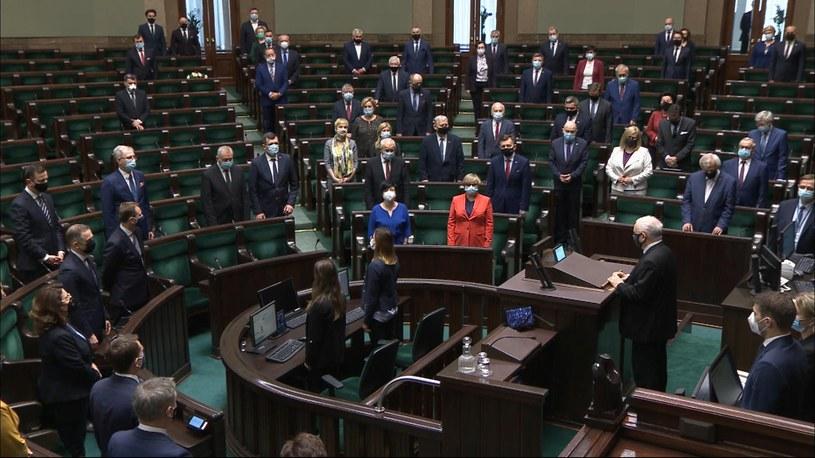Sejm uczcił pamięć zmarłego posła PiS Jerzego Wilka /Polsat News