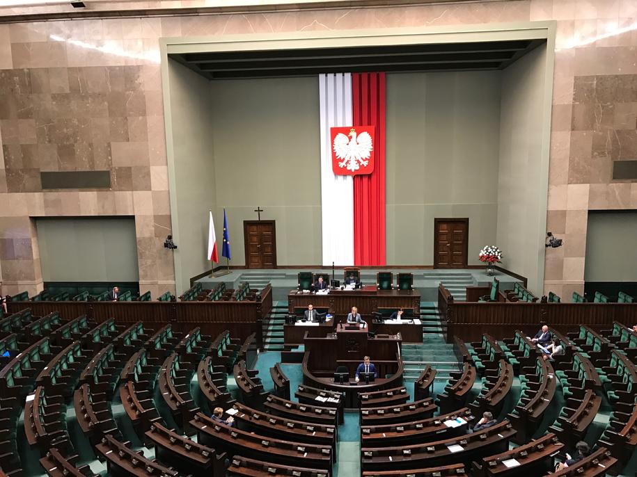 Sejm. Zdjęcie ilustracyjne /Mariusz PIekarski /RMF FM