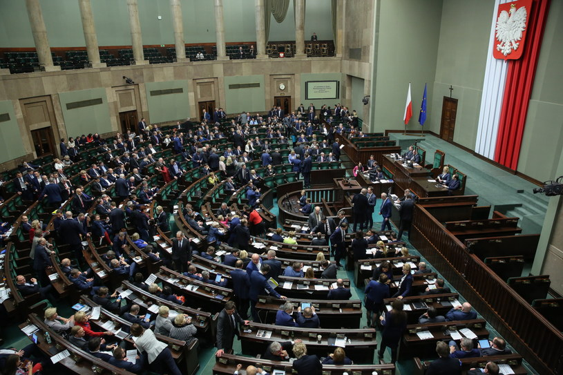 Sejm /Rafał Guz /PAP