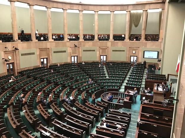 Sejm /Maciej Pałahicki /RMF FM