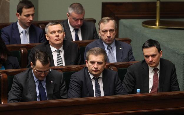 Sejmowa debata nad wnioskiem PiS o wotum nieufności wobec ministra zdrowia/fot. Radek Pietruszka /PAP