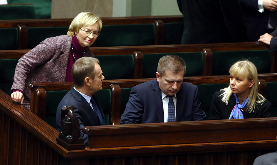 Sejmowa debata ws. odwołania ministra zdrowia /Rafał Guz /PAP