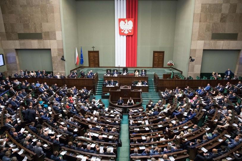 Sejmowa sala obrad, zdjęcie ilustracyjne /fot. Andrzej Iwanczuk /Reporter