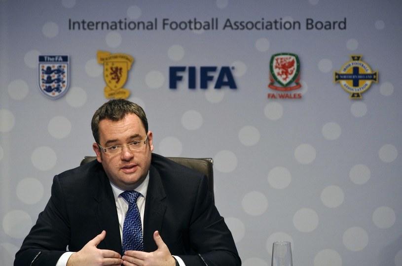 Sekretarz generalny Angielskiej Federacji Piłkarskiej Alex Horne /AFP