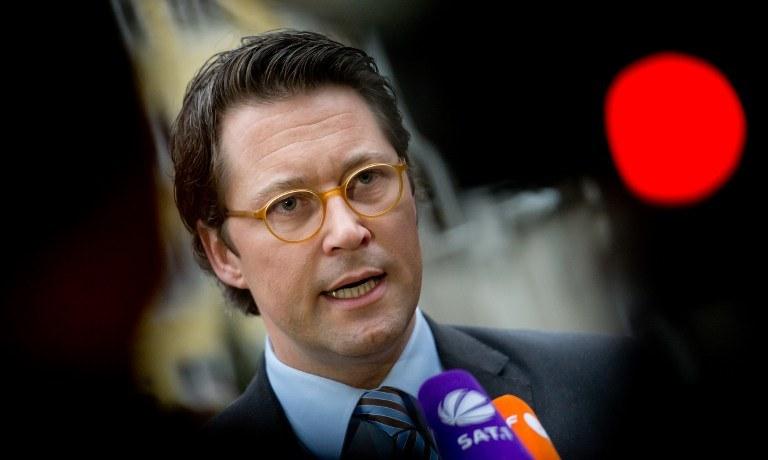 Sekretarz generalny CSU, Andreas Scheuer /AFP