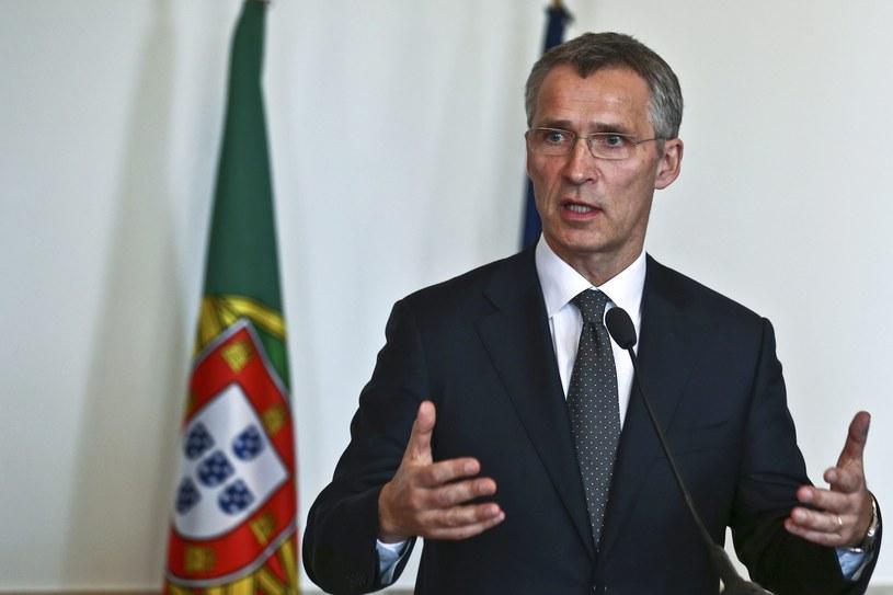 Sekretarz generalny NATO Jens Stoltenberg /ANTONIO COTRIM  /PAP/EPA