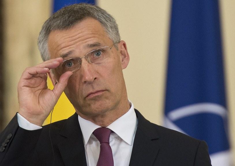 Sekretarz generalny NATO Jens Stoltenberg /AFP