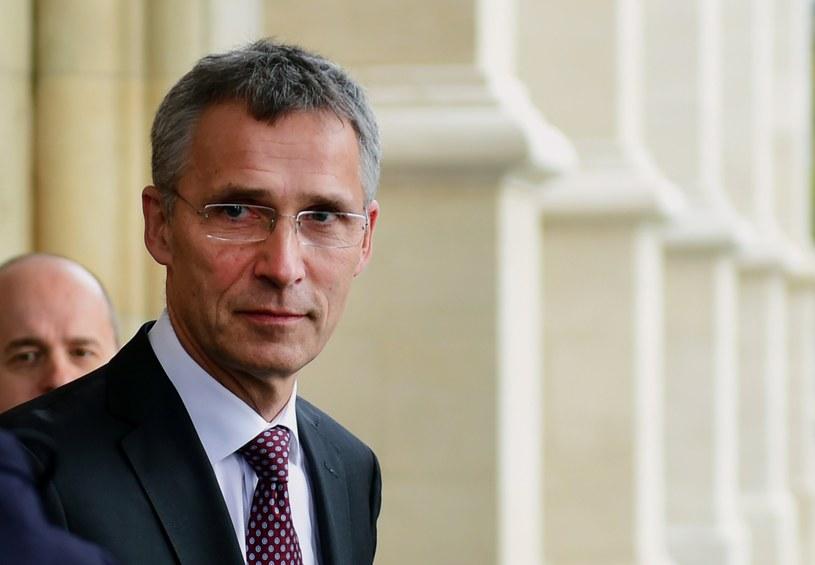 Sekretarz Generalny NATO Jens Stoltenberg /Attila Kisbenedek /AFP