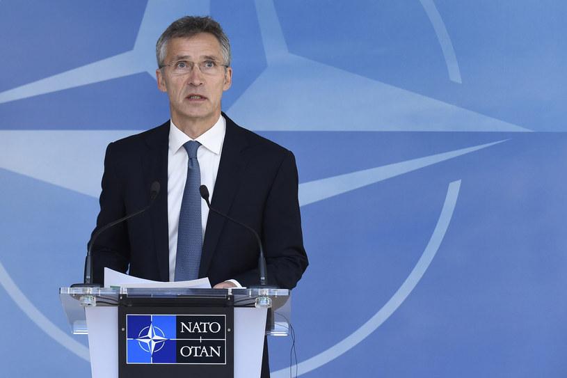 Sekretarz generalny NATO Jens Stoltenberg /JOHN THYS /AFP
