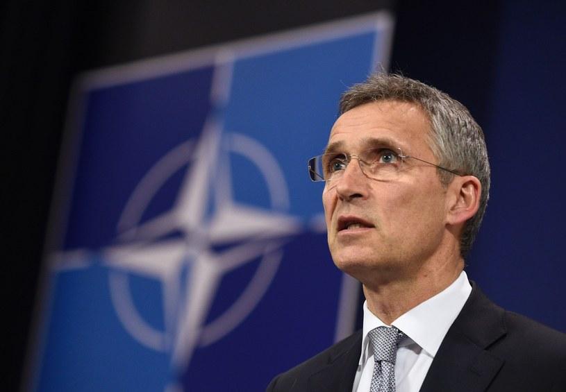 Sekretarz generalny NATO Jens Stoltenberg /AFP /East News