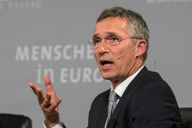 Sekretarz generalny NATO Jens Stoltenberg /PAP/EPA