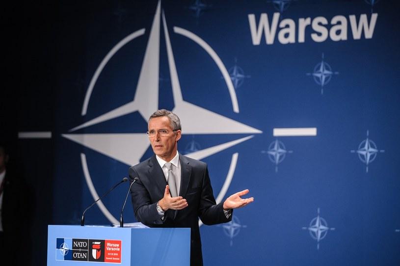 Sekretarz Generalny NATO Jens Stoltenberg /Tomasz Urbanek /East News