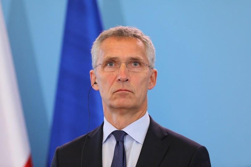 Sekretarz generalny NATO Jens Stoltenberg /STANISLAW KOWALCZUK /East News