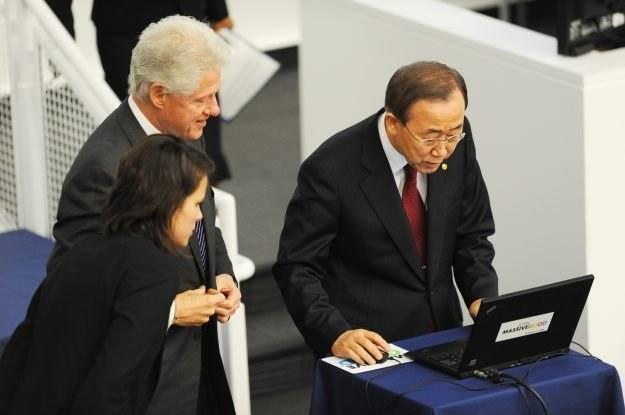 Sekretarz Generalny ONZ, Ban Ki-moon - czy ONZ będzie pilnowała porządu w sieci? /AFP