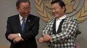 """Sekretarz generalny ONZ zatańczył """"Gangnam Style"""""""