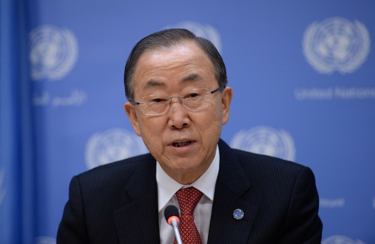 Sekretarz Generalny ONZ /AFP