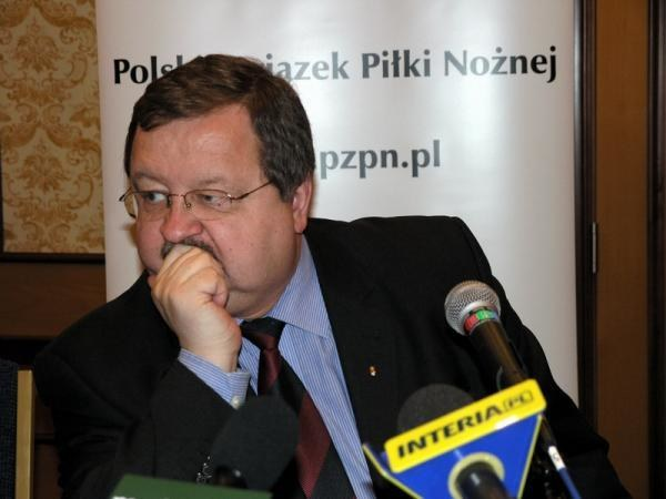 Sekretarz Generalny PZPN Zdzisław Kręcina uważa, że podział biletów był sprawiedliwy /INTERIA.PL
