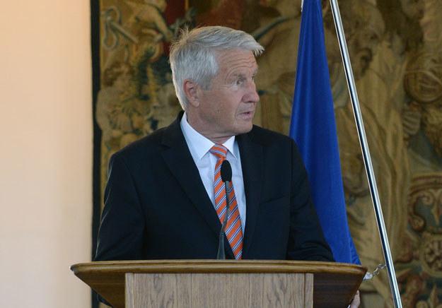 Sekretarz generalny Rady Europy Thorbjoern Jagland /AFP