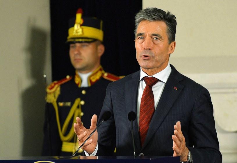 Sekretarz generalny Sojuszu Północnoatlantyckiego Anders Fogh Rasmussen /AFP