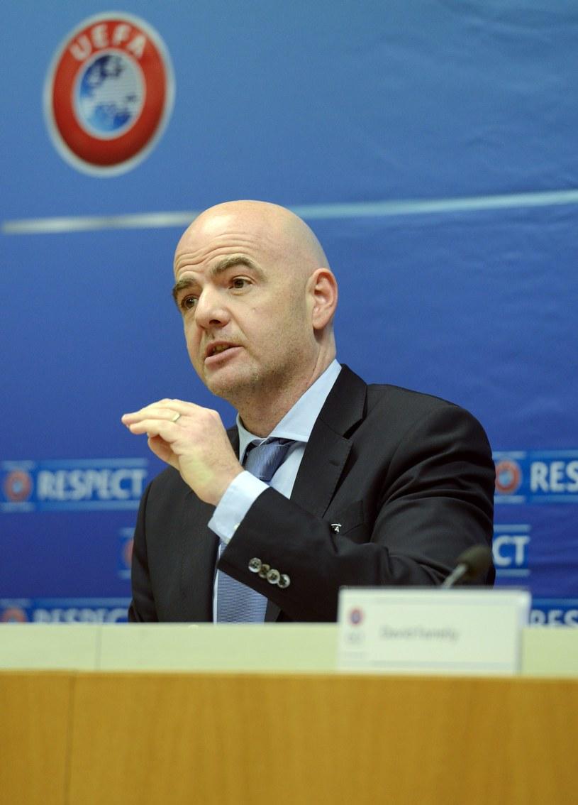 Sekretarz generalny UEFA Gianni Infantino /AFP