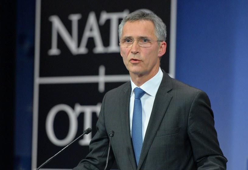 Sekretarz genetalny NATO Jens Stoltenberg /Getty Images