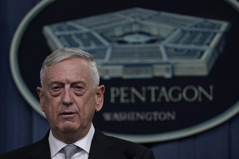 Sekretarz obrony USA James Mattis /ALEX WONG / GETTY IMAGES NORTH AMERICA  /AFP