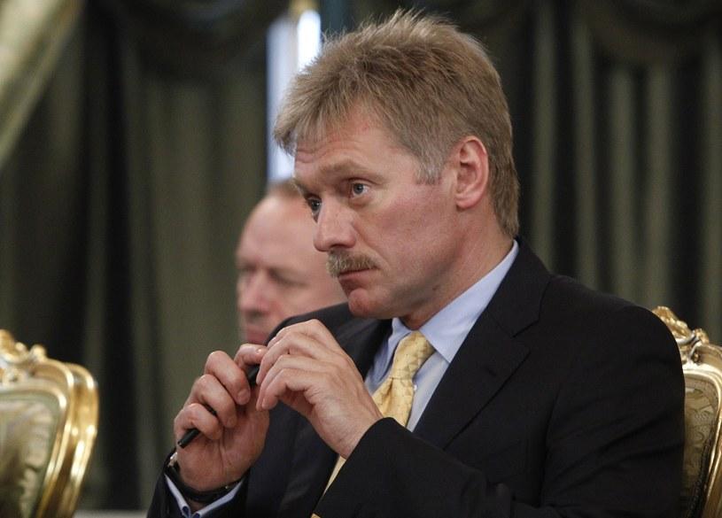 Sekretarz prasowy prezydenta Rosji Dmitrij Pieskow /MAXIM SHEMETOV  /AFP