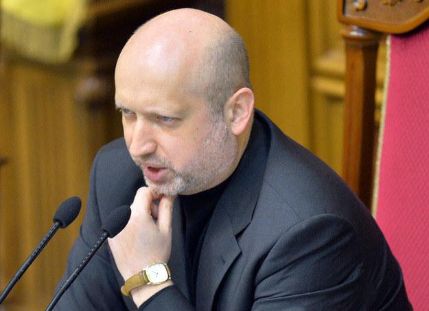 Sekretarz Rady Bezpieczeństwa Narodowego i Obrony Ukrainy Ołeksandr Turczynow /AFP