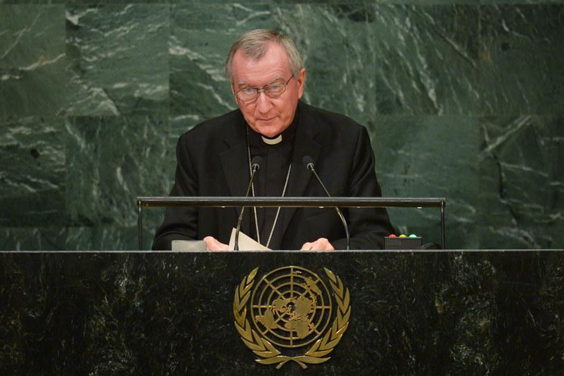 Sekretarz Stanu Stolicy Apostolskiej Pietro Parolin /AFP PHOTO / DOMINICK REUTER /AFP