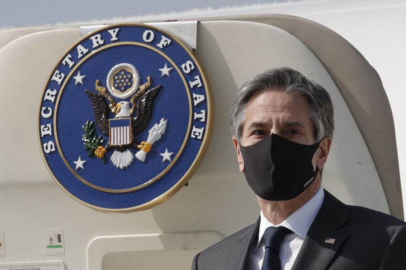 Sekretarz stanu USA Antony Blinken /AFP