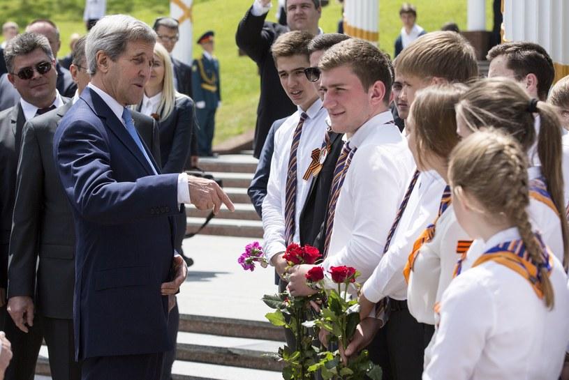 Sekretarz stanu USA John Kerry przyleciał we wtorek do Soczi /JOSHUA ROBERTS  /AFP