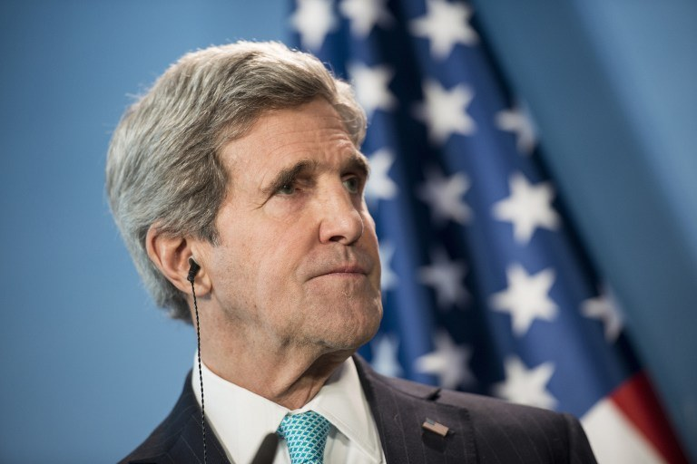 Sekretarz stanu USA John Kerry /AFP
