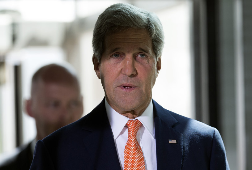 Sekretarz stanu USA John Kerry /Carl Court /AFP