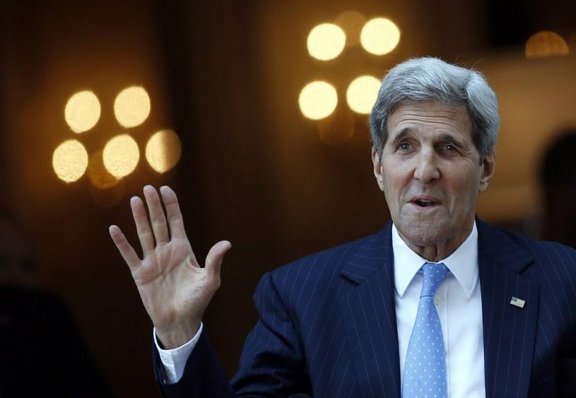 Sekretarz Stanu USA - John Kerry /AFP