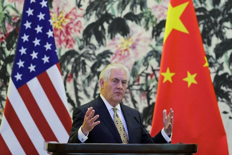 Sekretarz stanu USA Rex Tillerson. /PAP/EPA