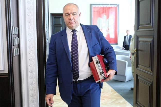 Sekretarz stanu w Kancelarii Prezesa Rady Ministrów Jacek Sasin /PAP