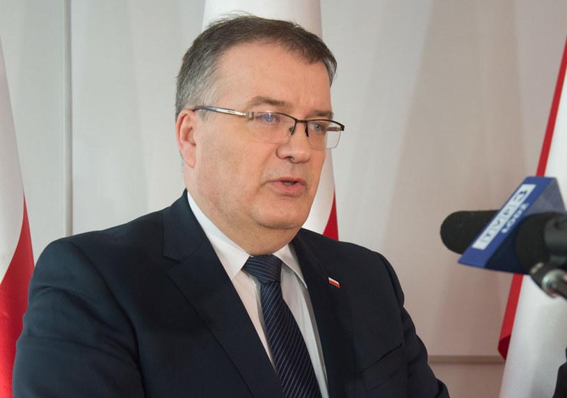 Sekretarz stanu w KPRP Andrzej Dera /Grzegorz Michałowski   /PAP