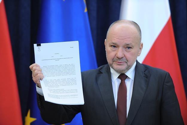 Sekretarz stanu w KPRP Maciej Łopiński /PAP