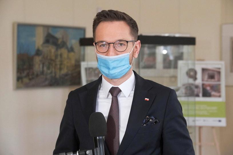 Sekretarz stanu w Ministerstwie Funduszy i Polityki Regionalnej Waldemar Buda /Mateusz Marek /PAP