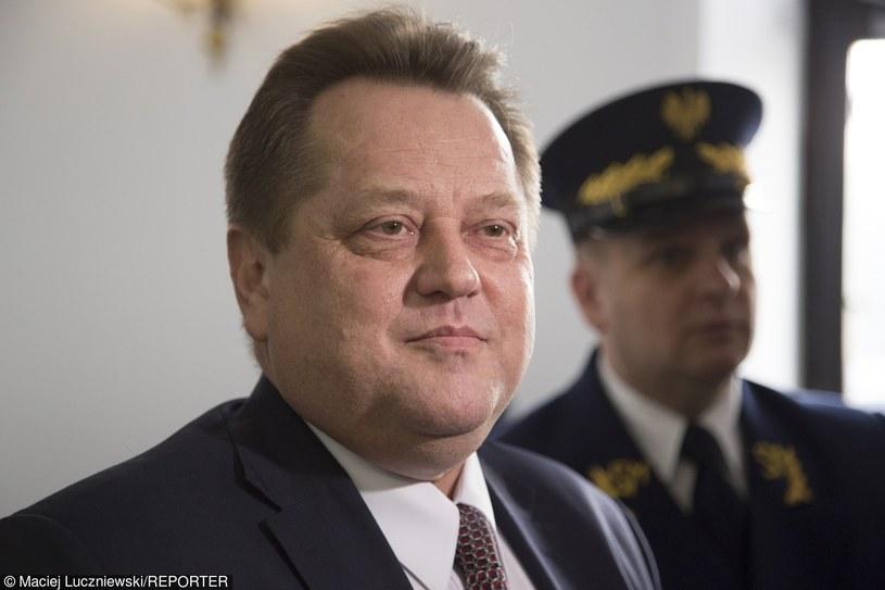 Sekretarz stanu w MSW Jarosław Zieliński /Maciej Łuczniewski /Reporter