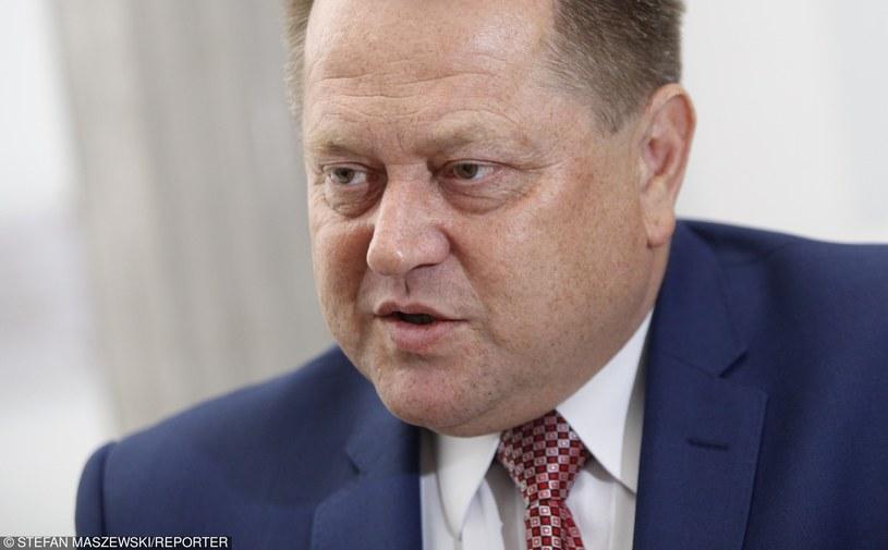 Sekretarz stanu w MSWiA Jarosław Zieliński /Stefan Maszewski /East News