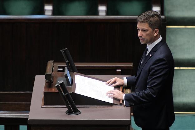 Sekretarz stanu w MSWiA Sylwester Tułajew /PAP