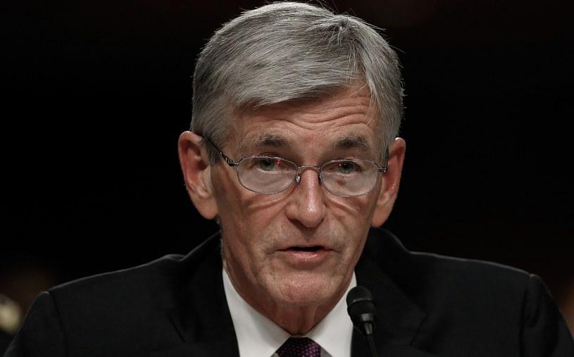 Sekretarz wojsk lądowych USA John McHugh /AFP