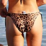 Seksowna Miss Portugalii w skąpym monokini