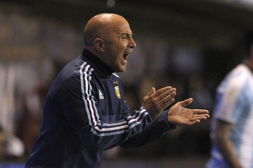 Selekcjoner Argentyny Jorge Sampaoli /AFP