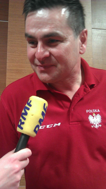 Selekcjoner hokejowej reprezentacji Polski Jacek Płachta. /Michał Białoński /INTERIA.PL