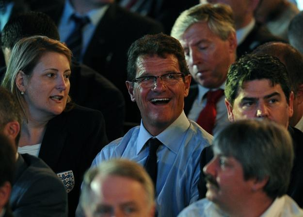 Selekcjoner piłkarskiej reprezentacji Anglii Fabio Capello /AFP
