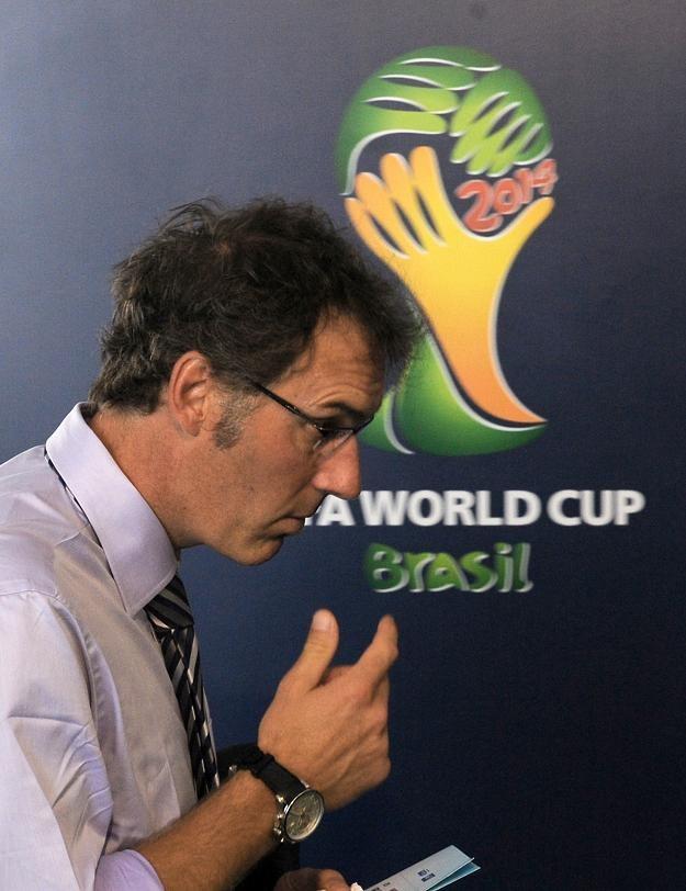 Selekcjoner piłkarskiej reprezentacji Francji Laurent Blanc /AFP